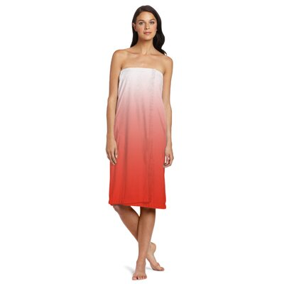 Shower Wrap Color: Coral