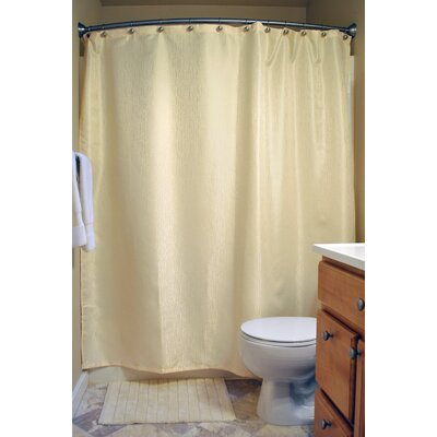 Skyler Bamboo Shower Curtain Color: Cream