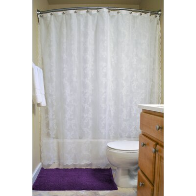 Andrade Lace Shower Curtain