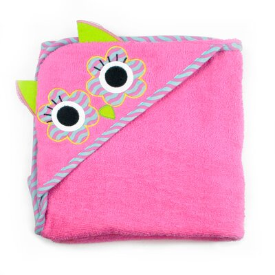 Owl Kids Hooded Bath Towel