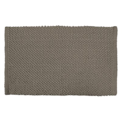 Sidney Popcorn Bath Rug Color: Cool Brown