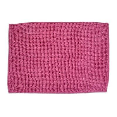 Sidney Popcorn Bath Rug Color: Neon Pink
