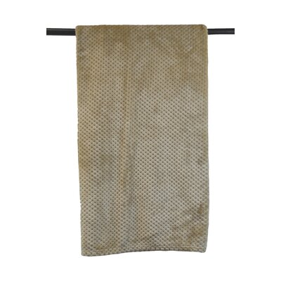 Lizbeth Throw Color: Taupe, Size: 50 W x 60 L