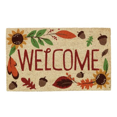Plattsburgh Welcome Autumn Doormat