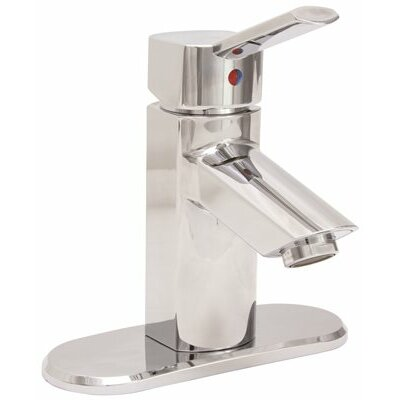 Waterfront Single Handle Lavatory Faucet with Less Popup Finish: Chrome
