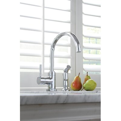 Essen� Single Handle Standard Kitchen Faucet with Spray