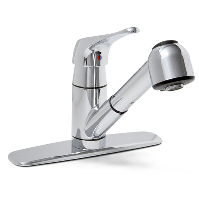 Sonoma One Handle Centerset Kitchen Faucet Finish: Chrome