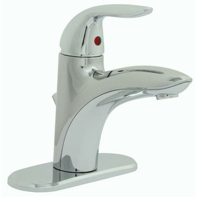 Waterfront? Centerset Bathroom Faucet Double Handle Finish: Chrome