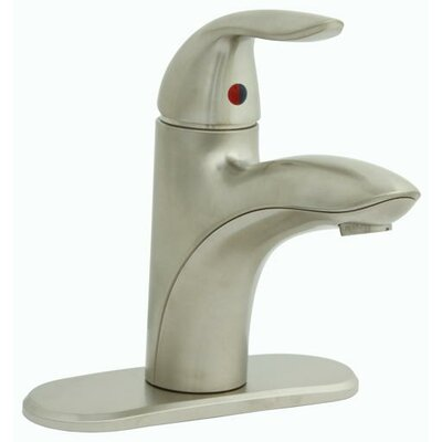 Waterfront? Centerset Bathroom Faucet Double Handle Finish: Brushed Nickel
