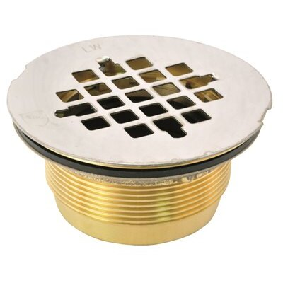 4 Grid Shower Drain