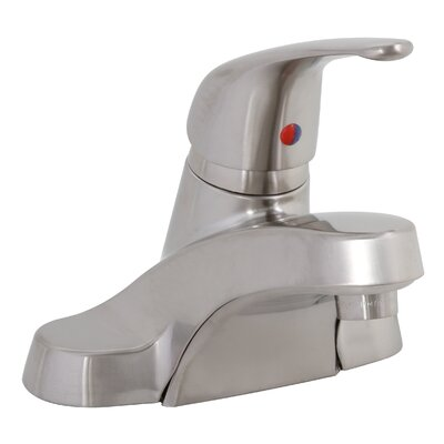 Westlake Single Handle Centerset Lavatory Faucet Finish: Brushed Nickel
