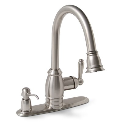 Sonoma Single Handle Kitchen Faucet with Optional Deck Plates
