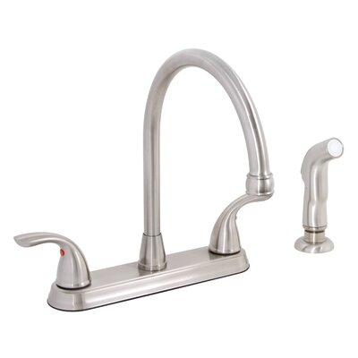 Westlake Double Handle Bar Faucet with Spray Hose