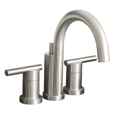 Essen Double Handle Mini-Widespread Lavatory Faucet Finish: Brushed Nickel