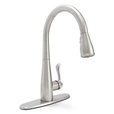 Sanibel Single Handle Deck Mounted Bar Faucet with Optional Deck Plate Finish: Chrome
