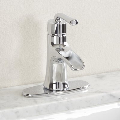 Sanibel Single Handle Bathroom Faucet Finish: Chrome