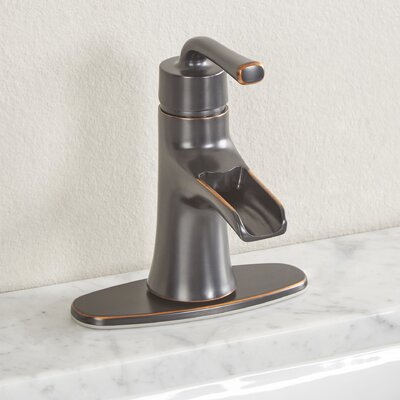 Sanibel Single Handle Bathroom Faucet Finish: Parisian Bronze