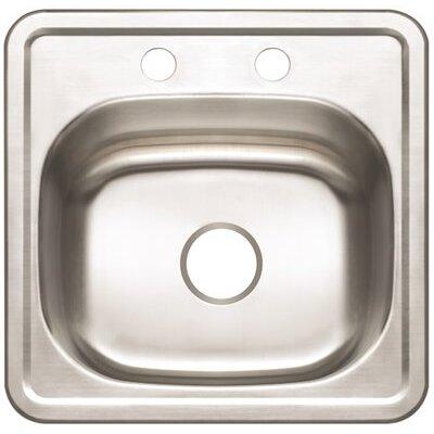 15 x 15 Drop-In Bar Sink
