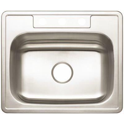 25 x 22 Drop-In Kitchen Sink