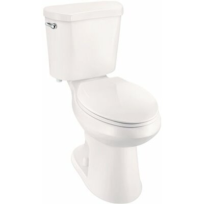 High Efficiency All-in-One 1.28 GPF Elongated Two-Piece Toilet
