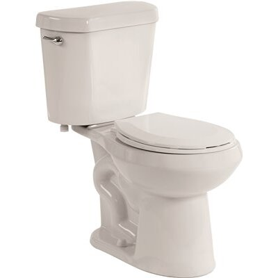 1.28 GPF Round Two-Piece Toilet