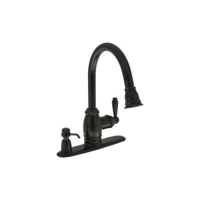 Single Lever Handle Pull Down Kitchen Faucet