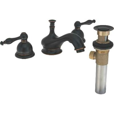 Wellington Double Scroll Handle Bathroom Faucet