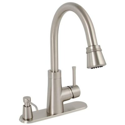 Essen Single Metal Lever Handle Pull Down Kitchen Faucet