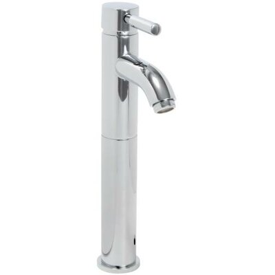 Essen Single hole Single Handle Bathroom Faucet with Drain Assembly Finish: Chrome