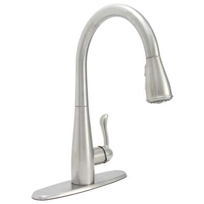 Sanibel Single Lever Handle Pull Down Kitchen Faucet