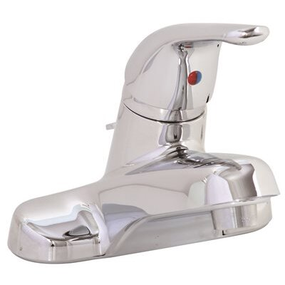 Bayview Lavatory Centerset Lever Handle Bathroom Faucet with Drain Assembly