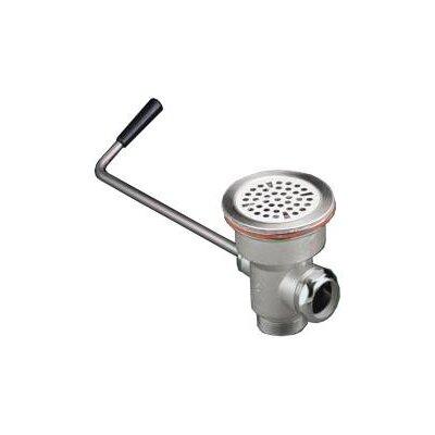 Commercial Strainer Twist Handle 1.5 Grid Bathroom Sink Drain