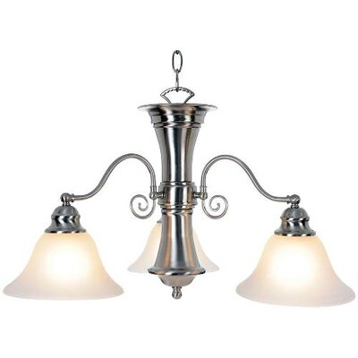 Harrell 3-Light Shaded Chandelier