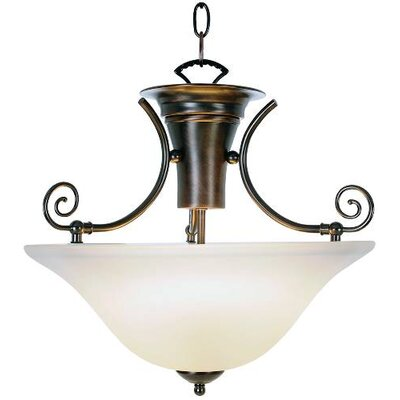 Wellington� 2-Light Bowl Pendant