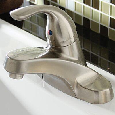 Caliber Centerset Single Handle Bathroom Faucet