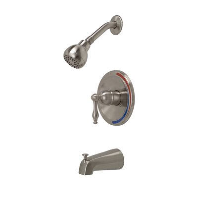 Premier Faucet Wellington Single Handle Volume Control Tub and Shower Faucet - Finish: Brushed Nickel at Sears.com