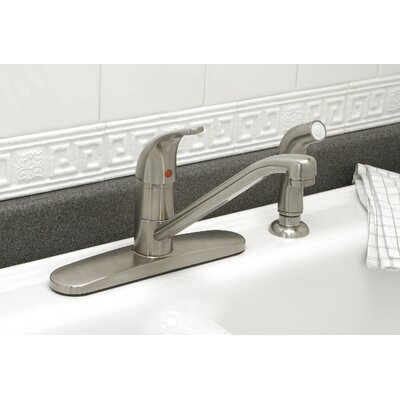 Westlake Single Handle Kitchen Faucet Finish: PVD Brushed Nickel