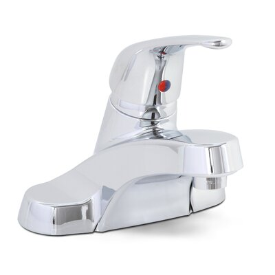 Westlake Single Handle Centerset Bathroom Faucet without Pop Up Finish: Chrome