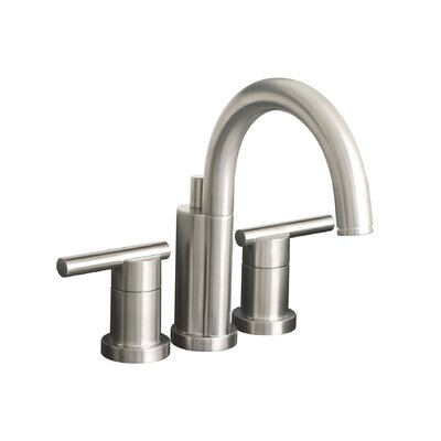 Essen Widespread Bathroom Faucet with Double Handles Finish: PVD Brushed Nickel