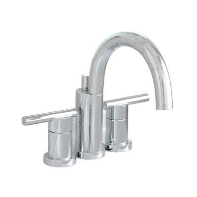 Essen Widespread Bathroom Faucet with Double Handles Finish: Chrome