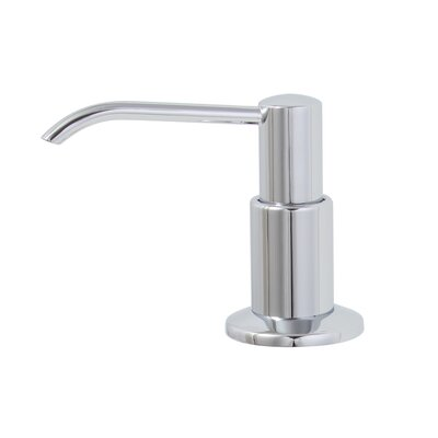 13 Ounce Soap Dispenser Finish: Chrome