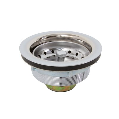 Kitchen Sink Strainer Finish: Chrome
