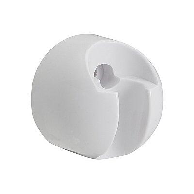 Showerhead Bracket (Set of 3) Finish: White