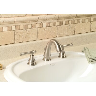 Torino Centerset Bathroom Faucet with Double Handles Finish: Brushed Nickel