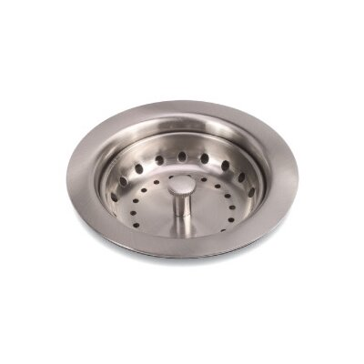 Grid Kitchen Sink Drain Finish: Brushed Nickel