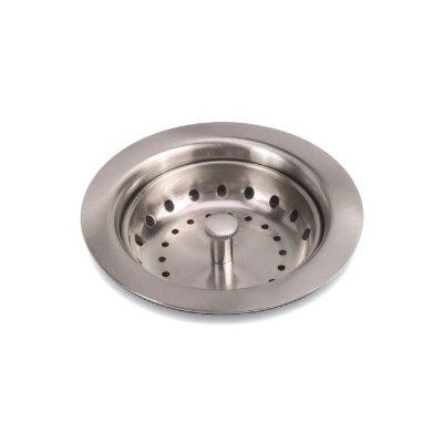 Kitchen Sink Strainer Finish: Brushed Nickel