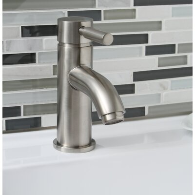 Essen Single Handle Bathroom Faucet Finish: Brushed Nickel