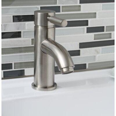 Essen Single Handle Bathroom Faucet Finish: Brushed Nickel
