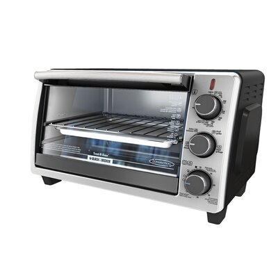 6-Slice Countertop Convection Oven TO19050SBD