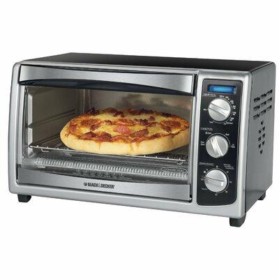 Black & Decker Countertop Convection Toaster Oven TO1675B